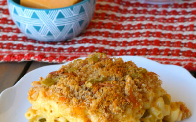 Green Chile Chicken Mac & Cheese